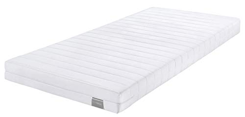 bester Test von doctor sleep matratzen Rollenmatratze Dream Night Easy Comfort, Härte 2 (H2), 90 x 190 cm, Weiß