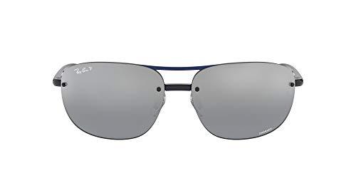 Ray-Ban Herren 4275ch Sonnenbrille, Blau (Blue/Bluemirgreygradientpolar), 63