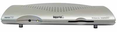 Imperial P 1 S Satelliten-Receiver (geeignet für Premiere) Silber
