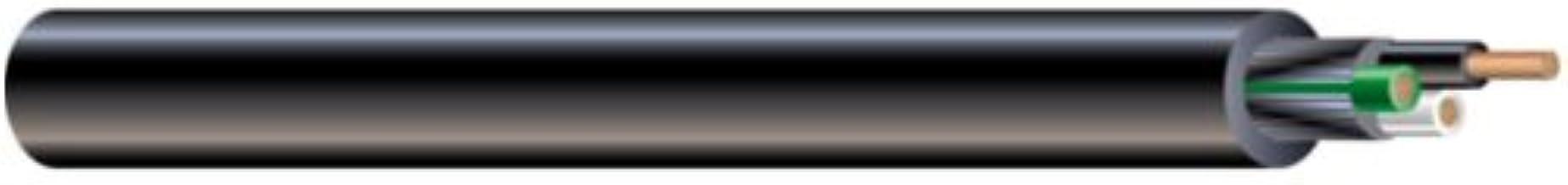Southwire 55043321 300 Volt 25-Feet 16-Gauge 3 Conductor 14/3 Quantum TPE SJEOOW Portable Flexible Power Cord, Black