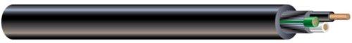 Southwire 55043321 300 Volt 25-Feet 14-Gauge 3 Conductor 14/3 Quantum TPE SJEOOW Portable Flexible Power Cord, Black
