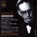 Magnificat, Orch.suites.2, 3: Klemperer / Hungarian.rso