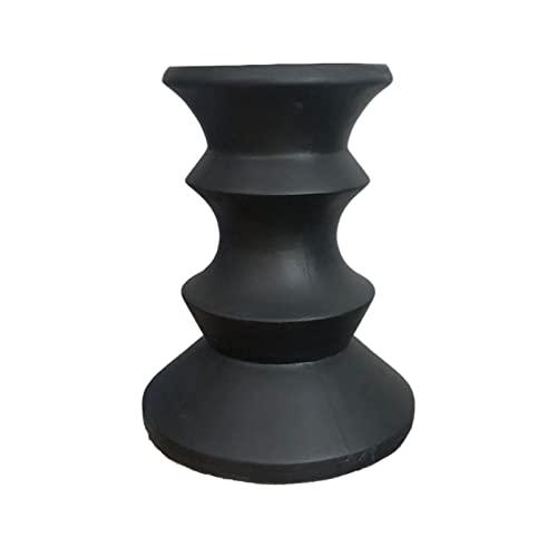 tavolino per Tavolino da caffè in Argilla Magnesia, tavolino Laterale/Tavolo d'angolo Creativo, tavolino da caffè nella terrazza del Soggiorno, Altezza 50,8 cm/20'