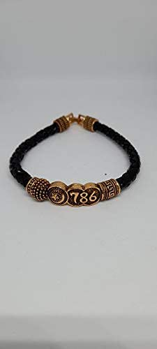 Anjani Bramhani Gold Plated 786 Kada All items in the store Bracelet Special Max 87% OFF Eid