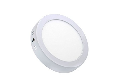 TDRSHINE runde Led Surface Warm White 3000-3500k Super helle LED Panel Licht Decke Downlight Lampe Kit mit LED Treiber AC 85-265V (24W)