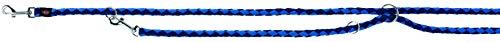 Trixie 143513 Cavo V~Leine, S–M: 2,00 m/ø 12 mm, indigo/royalblau