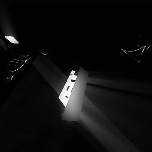 Luz del Proyector del Coche 2 UNIDS ABT ABT Coche Luz Logo Lámpara Proyector Fit Compatible con ABT A6 C6 C5 A1 A3 A4 B8 A5 A7 A8 Q2 Q5 Q7 TT RS RS8RS7 RS6 RS5 RS4 S3 S4 S6 Universal Sensor