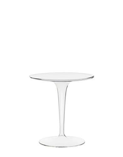 Kartell, Tip Top, Tavolino, Trasparente, 48 x 50 x 48 cm