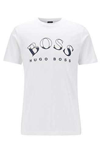BOSS Herren Tee 1 T Shirt, Weiá (Natural (101)), M EU