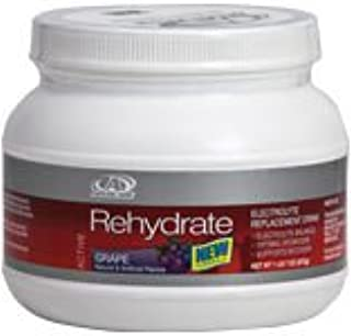 Rehydrate Electrolyte Replacement Drink Grape Canister