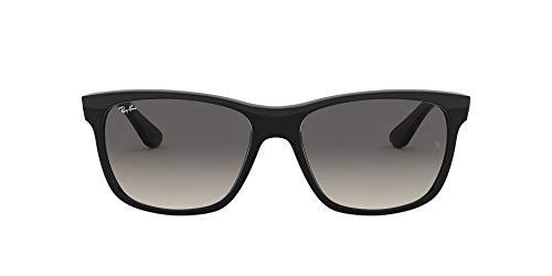 Ray-Ban Unisex 0rb4181 58 Sonnenbrille, Schwarz (Gestell: Schwarz, Gläser: Grau Verlauf 601/71), Large (Herstellergröße: 57)