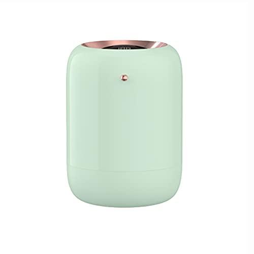 BANYANU Humidificador, Spray Doble Nano Niebla Atomizador, 1L De Gran Capacidad Esterilización UV Humidificación Silenciosa Prevenir Quemaduras En Seco Carga USB Escritorio Suministro De Agua,Verde