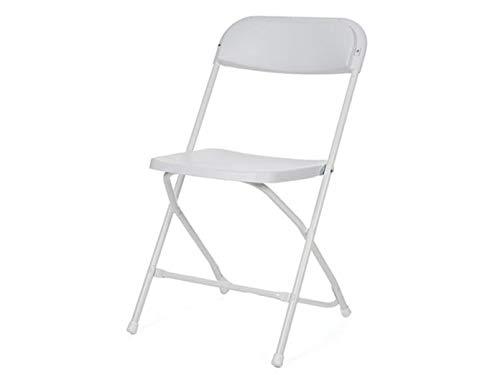 Perel Folding Chair Camping Stuhl Weiß FP166N Belastbarkeit (Gewicht) (max.) 120 kg
