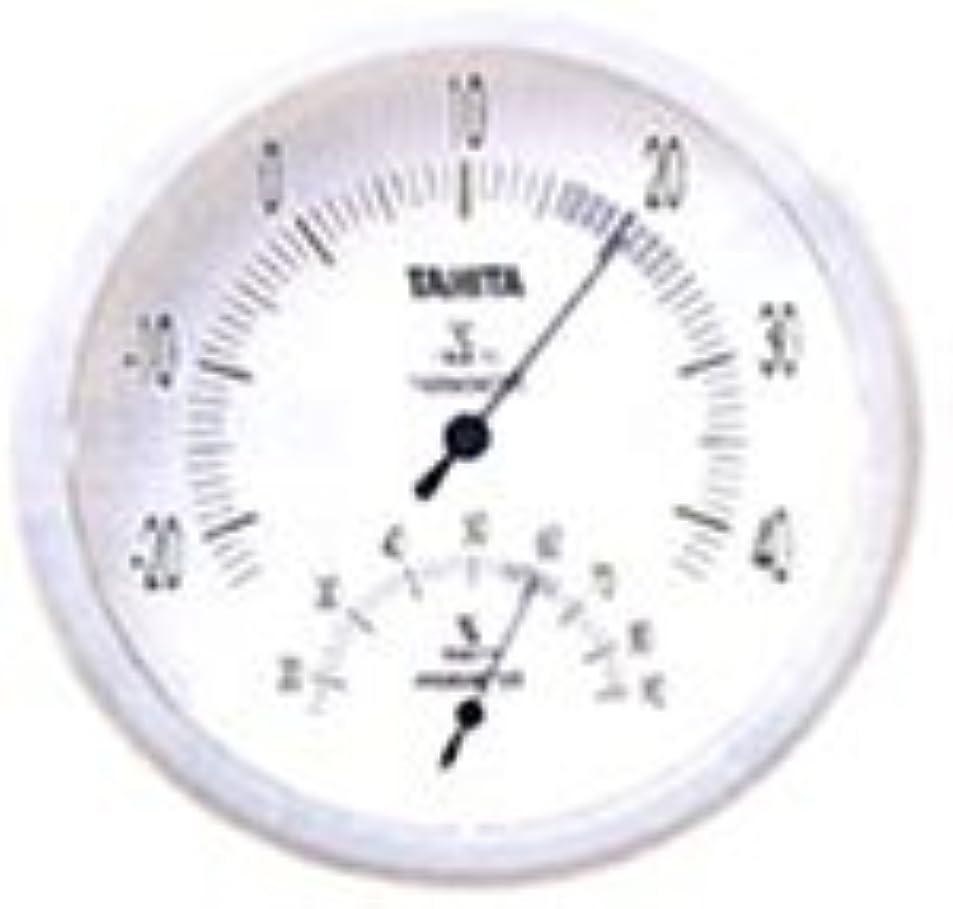 ラオス人チーターラベンダータニタ 温湿度計 アナログ ホワイト TT-492 WH 壁掛け