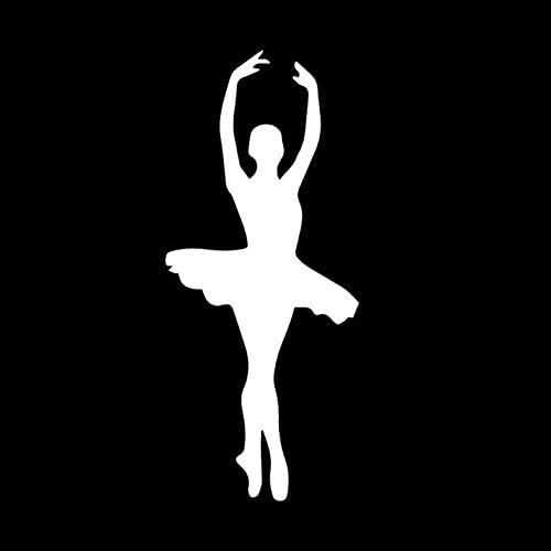 PAOPD 3 Piezas de Pegatinas de Coche de 7 CM * 16,2 CM, calcomanía Divertida de Baile de Belleza para Coche, Furgoneta, Ordenador portátil, Puertas o Paredes, Ideal para Furgonetas Camper