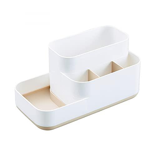 N\C Caja de almacenamiento cosmética Organizador de maquillaje Joyería Esmalte de Uñas Contenedor de Maquillaje Contenedor de Escritorio Caja