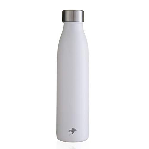 One Green Bottle Bouteille Isotherme en Acier Inoxydable Isotherme de 750 ML pour Garder l'eau Froide 24 Heures ou Chaude 12 Heures.