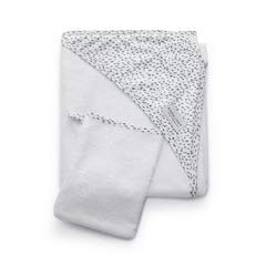 Bamboom Duo Hooded Towel + Wash Glove Leopard - 300g
