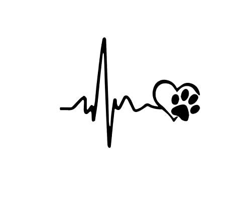 MDGCYDR Pegatinas Coche Perro Etiqueta Engomada del Coche del Perro De 30Cm Animales Vinilo Envolvente Divertido En Los Coches para El Coche De La Motocicleta Windows Accesorios De Decoración del Cue