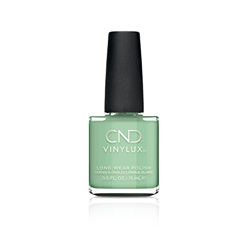 CND Vinylux Weekly Nail Polish for Women, Mint Convertible, 0.5 Ounce