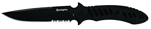 Remington 871314 Gürtelmesser F.A.S.T. Fixed Blade Serrated   Klingenlänge: 14 cm   schwarzer Gummigriff, mehrfarbig