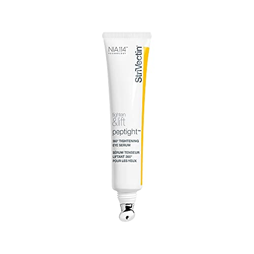 StriVectin Tighten & Lift Peptight 360 Degree Eye Serum with Tightening & Brightening Peptides for Wrinkles, Under Eye Bags and Puffiness, 1 fl. Oz