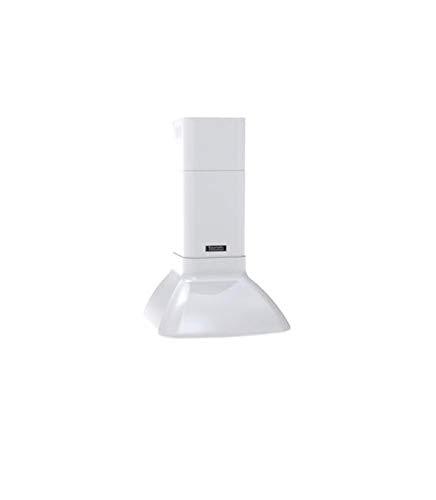 Baumatic BER600W - Campana de cocina retro (60 cm), color blanco