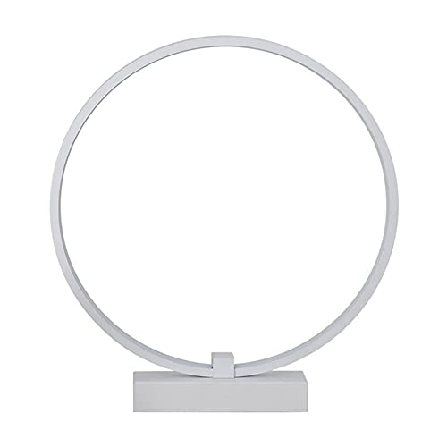 CYzpf Lámparas Mesita de Noche Redondo Control Remoto Lámpara de Mesa Pequeña Creativa LED Moderna Luces de Escritorio Luz de Lectura para el Dormitorio Sala de Estar Oficina,diameter-35cm