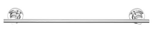 Nie Wieder Bohren luup Handtuchhalter, zum Kleben (60cm), inkl. Befestigungsset, verchromt, rostfrei, eine Stange, 50mm x 600mm x 70mm