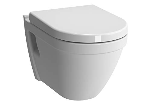 Vitra Vitraflush S50 spülrandlos mit Bidetfunktion, Taharet, Taharat Dusch WC inkl. Softclose WC-Sitz