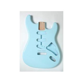 Göldo Body US Red Alder Rojo Aliso Sonic Blue Cuerpo Guitarra ...