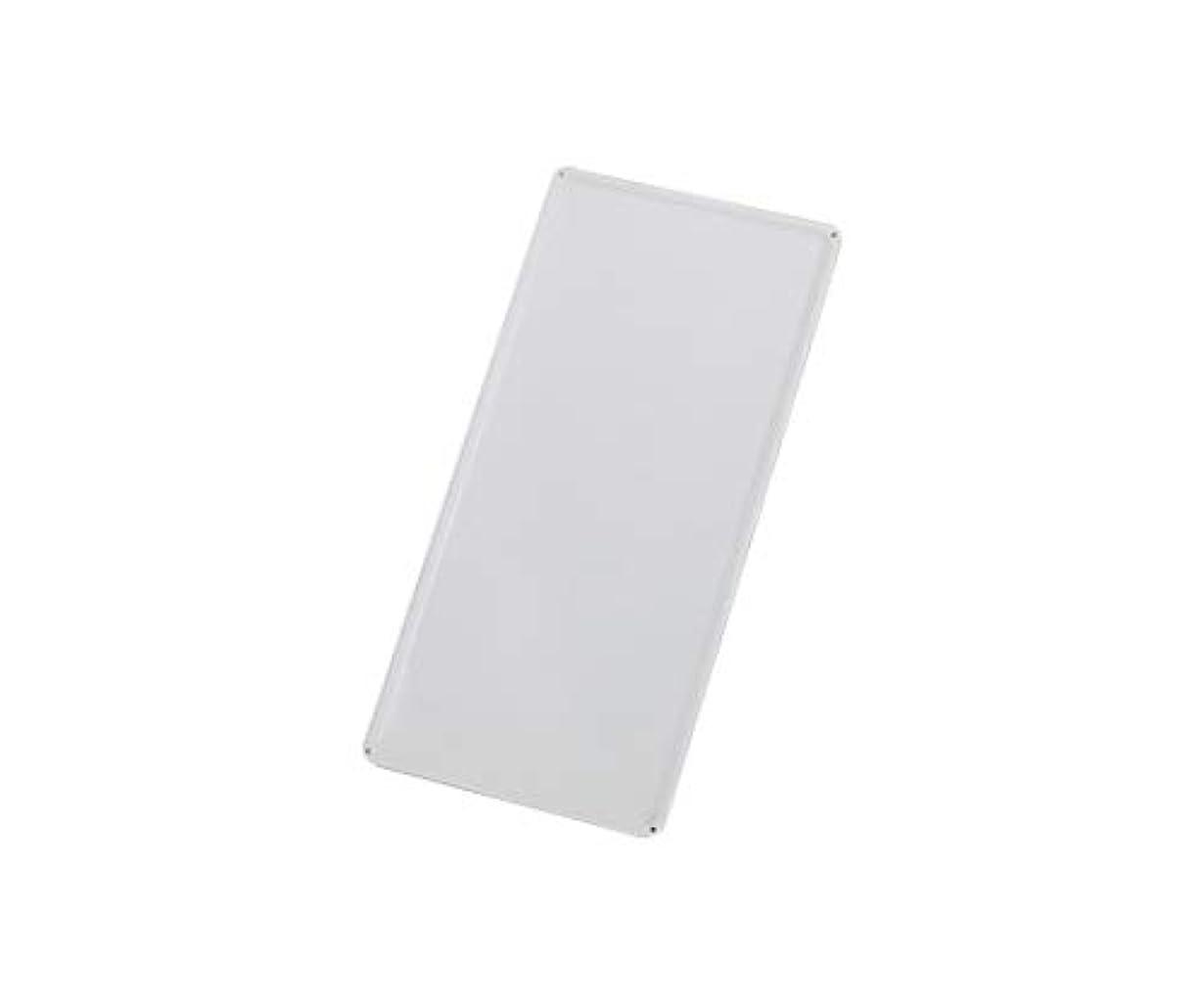 キャンパスマイクロプロセッサ隠されたスチール無地板 山型 白 スチール-36/61-3394-76