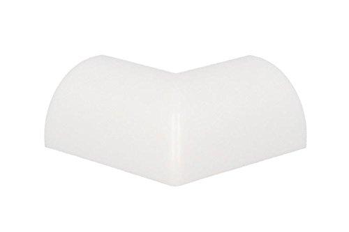 LEDLUX BA4462 Conector angular para esquina externa para perfil de aluminio delgado angular de 45 grados BA1616 - 1 pieza