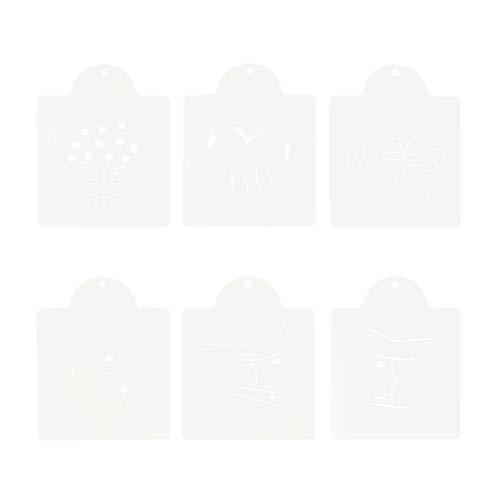 Amosfun Kuchen Schablone Edelstahl Abschluss Doktorhut Kuchen Grenze Fondant Keks Süßigkeiten Schokolade Dekoration Backformen 6 Stück