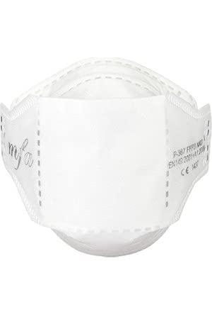 MFA FFP3 Maske ohne Ventil NEU 60 Stück - Mund und Nasenschutz - FFP3 NR D Klassifikation - EN149 und CE Zertifiziert - Weiß