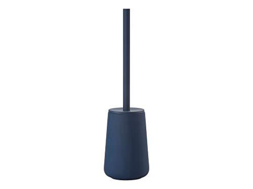 Zone Denmark Nova One WC-Bürste/Toilettenbürste/WC-Garnitur, Steingut mit Soft Touch-Beschichtung, Stahl, königsblau