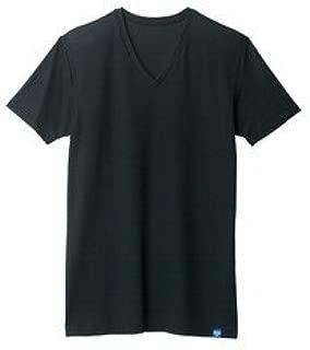 COOLMAGIC クールマジック VネックTシャツ ブラック L