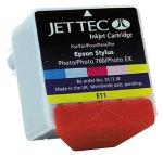 JetTec Tintenpatronen für Epson Stylus Photo / Photo EX / Photo 700 color; Füllmenge yellow 12 ml, andere Farben je 9 ml