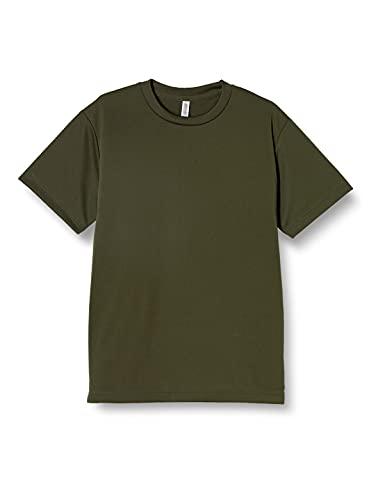 [グリマー] 半袖 4.4oz ドライTシャツ (クルーネック) 00300-ACT アーミーグリーン M (日本サイズM相当)