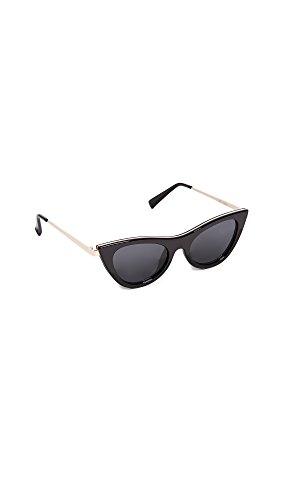 Le Specs Da Donna occhiali da sole incantatrice Nero Unica Taglia