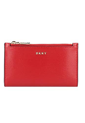 Portafoglio DKNY Donna Karan New York bryant sottile R92Z3C08 8RD bright red