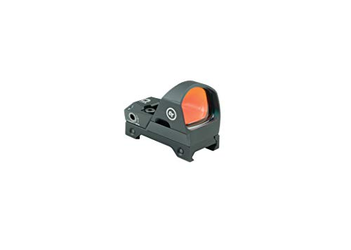 Crimson Trace CTS-1400 Electronic Compact Open Reflex Sight with MOA Aiming Dot, Brightness Control and Heavy Duty Construction for Rifles, Shotguns, Competition and Shooting
