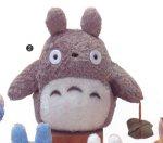 "My Neighbor Totoro 9"" tall gray Totoro Plush by Sun Arrow"
