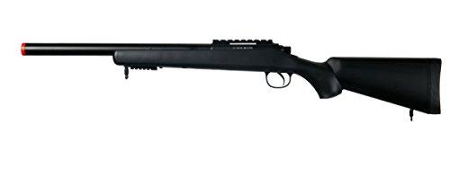 spring super sniper rifle black tokyo marui vsr-10 clone 370 fps airsoft gun(Airsoft Gun)
