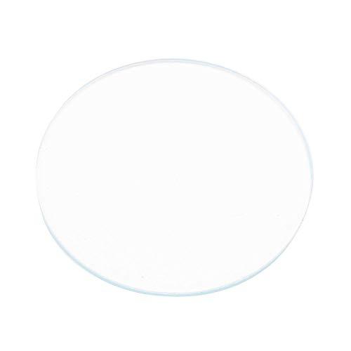 Ronde klok objectief, 5 stuks glazen lens tafel spiegel oppervlak 37/38/39 mm plat horloge kristallens glas reserveonderdelen gereedschap meer dan 1 mm dik #1