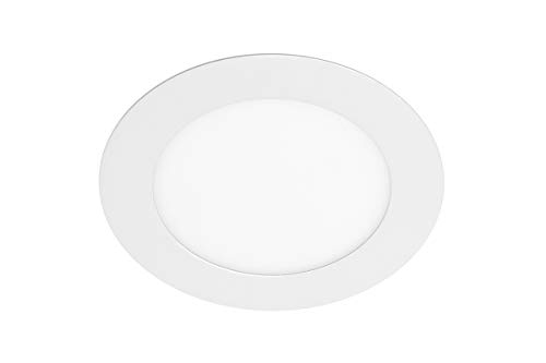 Downlight LED Oris Plus, 7 W, 560 lm, AC220-240 V, 50/60 Hz, 120°, 3000 K, entrada, color blanco