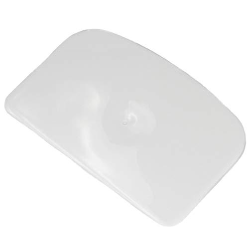 Chef Craft Classic Plastic Dough Scraper, 6 Inch, White