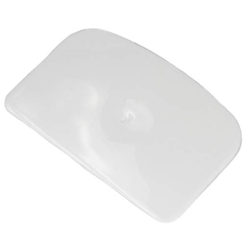 Chef Craft Classic Plastic Dough Scraper, 6 Inch, White