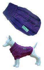 freedog Fd5000574 - wollen trui hond lila