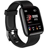Smart Watch y&ei 3+ Bracelet Bluetooth Gym Running Women Kids Men Watch for Active (Black)